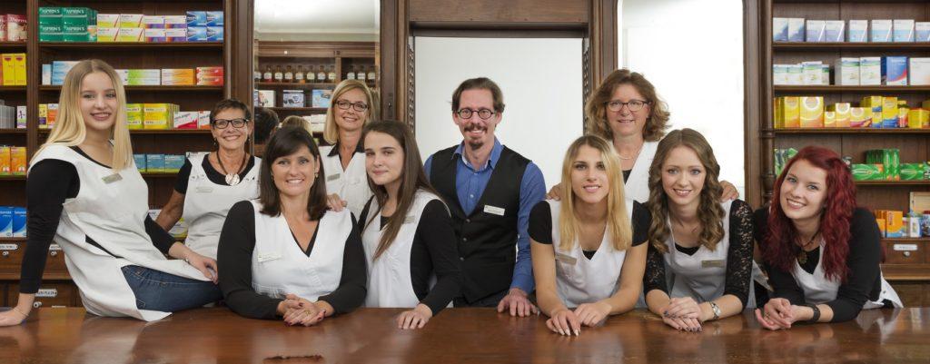 Das Team Anklin Apotheke liefert kompetente Beratung